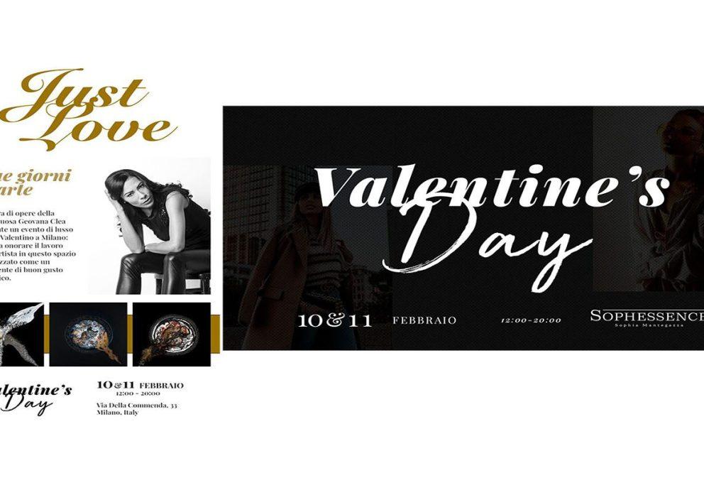 SAN VALENTINO 2020, LA MODA INCONTRA L'ARTE:A MILANO L'EVENTO ESCLUSIVO VALENTINE'S DAY BY SOPHESSENCE