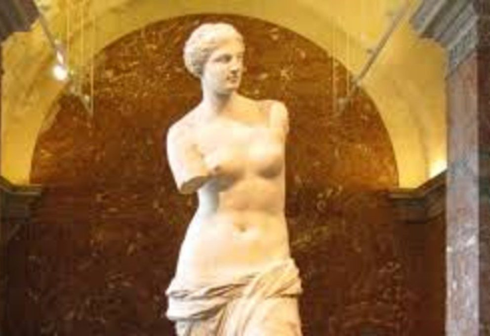 Venere di Milo,Statua di Venere, la più celebre statua dell'antichità.
