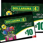 Giveaway –  $20 Dollarama Gift Card