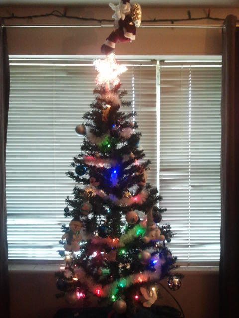 Mama re decorates Tree