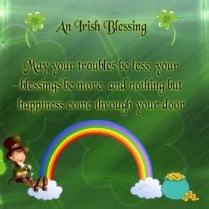 St. Patrick's Day An Irish Blessing