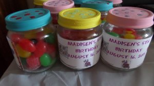 Party Favour Jars