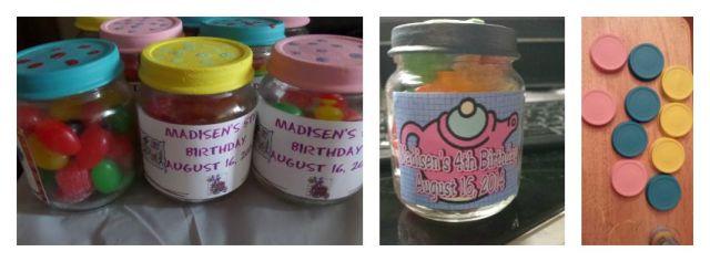 DIY Party Favour Jars