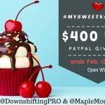 #MySweetValentine $400 USD PayPal Giveaway