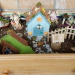 Fairy Garden in a Dresser Drawer