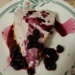Blueberry Cheesecake – No Bake