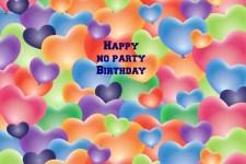 No Party Birthday