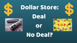 Dollar Store Deal or no Deal