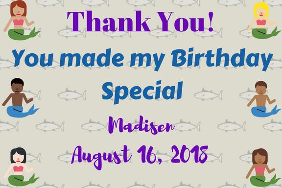 Mermaid Birthday Theme on a Budget