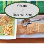 Cream of Broccoli Soup – A Fall Favourite