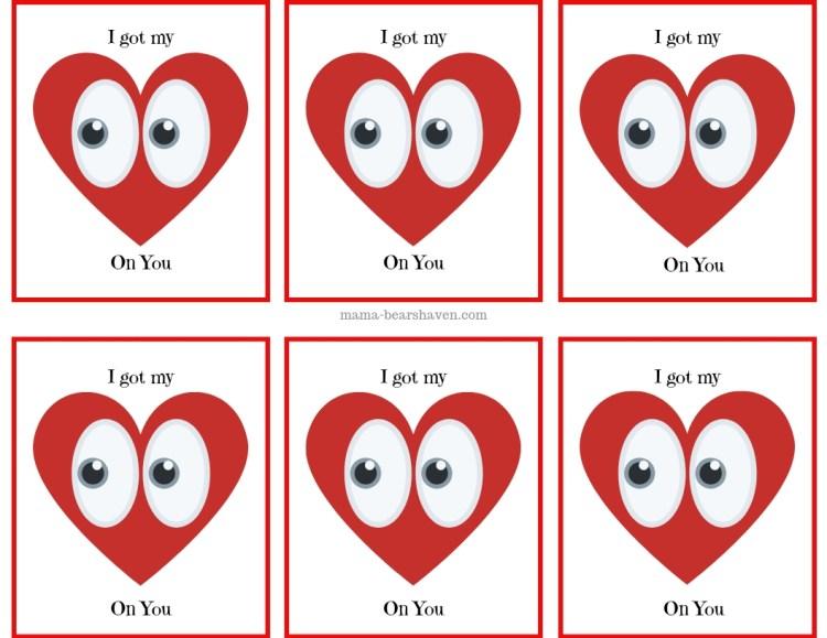 Valentine Cards for Classmates