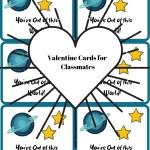 Valentine Cards for Classmates – Printables