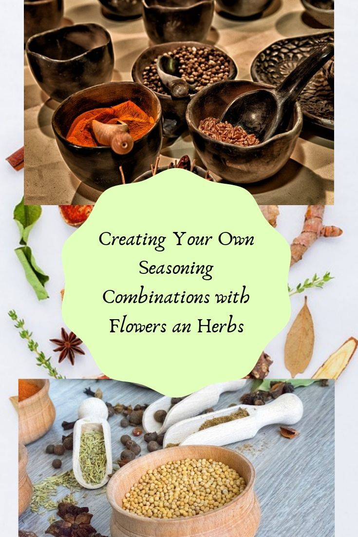 Creating your own seasoning combinations