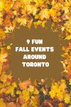 Fun Fall events