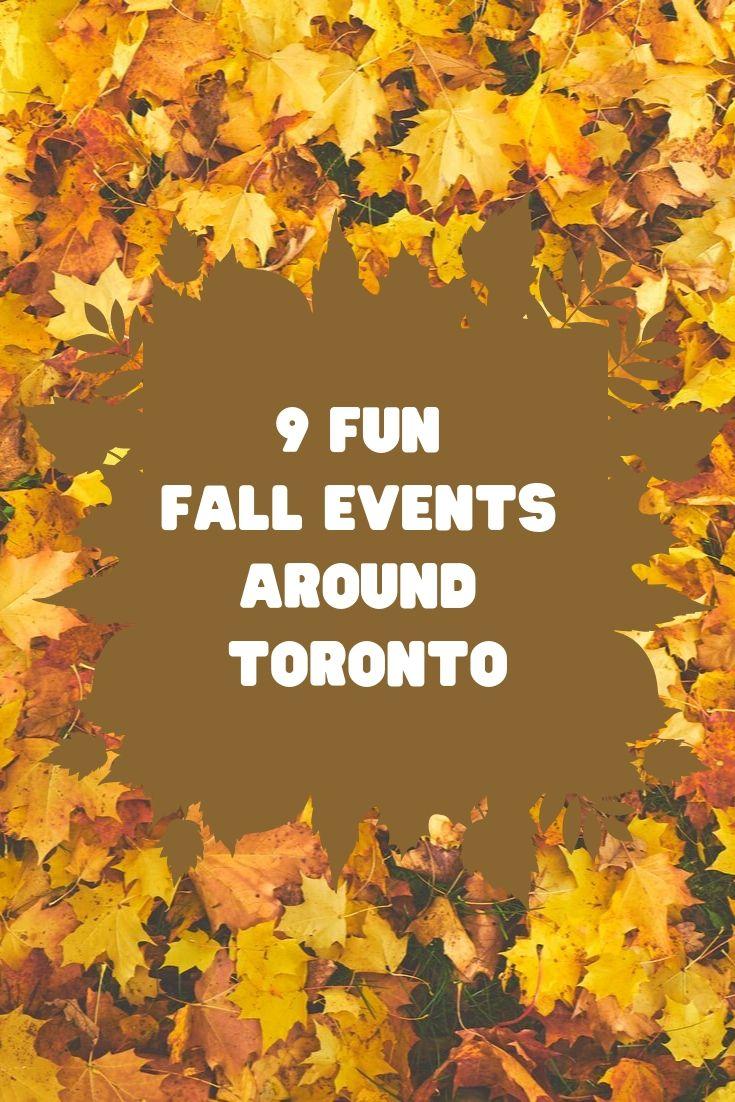 Fun Fall events