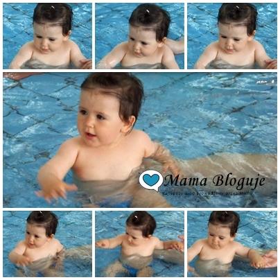 Pierwsza wizyta na basenie - wskazówki od pediatry