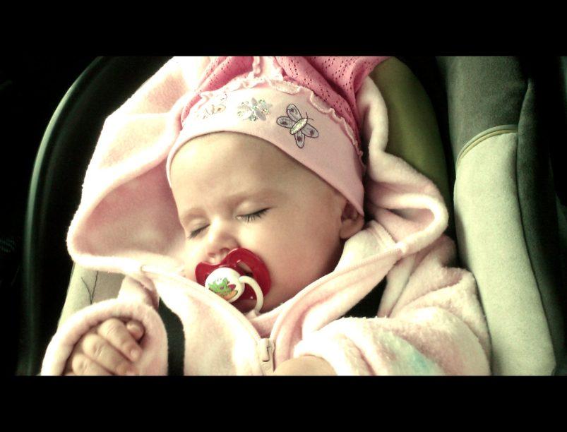 Nadia 5 miesięcy smoczek