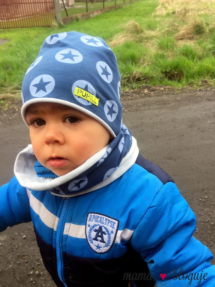 wiosenna czapka pupill dla chłopca