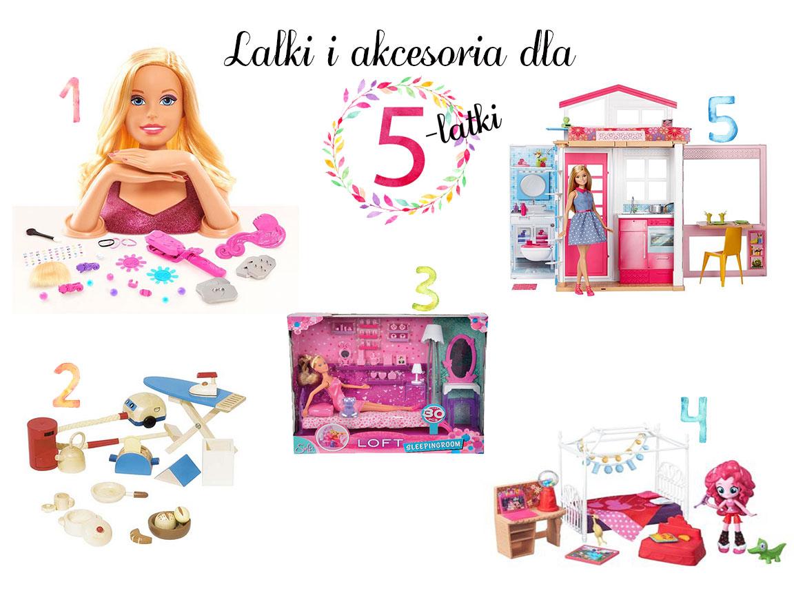 prezent dla pięciolatki lalki