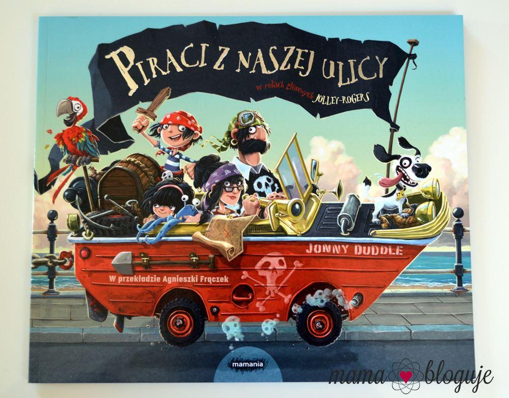 """""""Piraci z naszej ulicy"""" Jonny Duddle"""