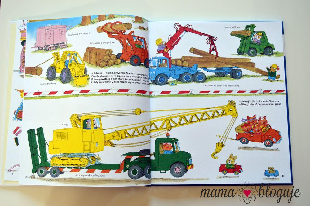 książka o samochodach dla dzieci