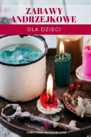 Zabawy Andrzejkowe, Wróżby Andrzejkowe, Andrzejki, dla dzieci