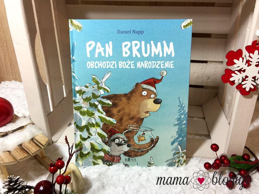 Pan Brumm obchodzi Boże Narodzenie książki na święta blog recenzja