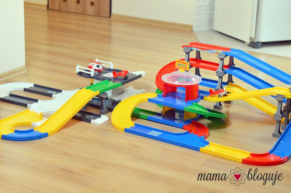 Kids Cars 3d recenzja zabawki wader garaż