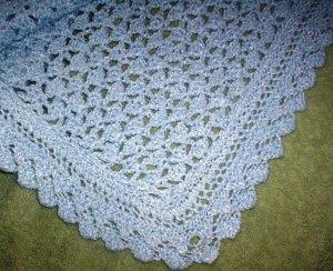 Handmade - Crotchet Blanket for Baby Boy