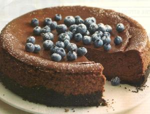 dOUBLE CHOCOLATE CHEESECAKE 001