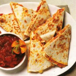 Chicken quesadilas