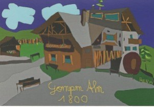 Gompm Alm in Südtirol