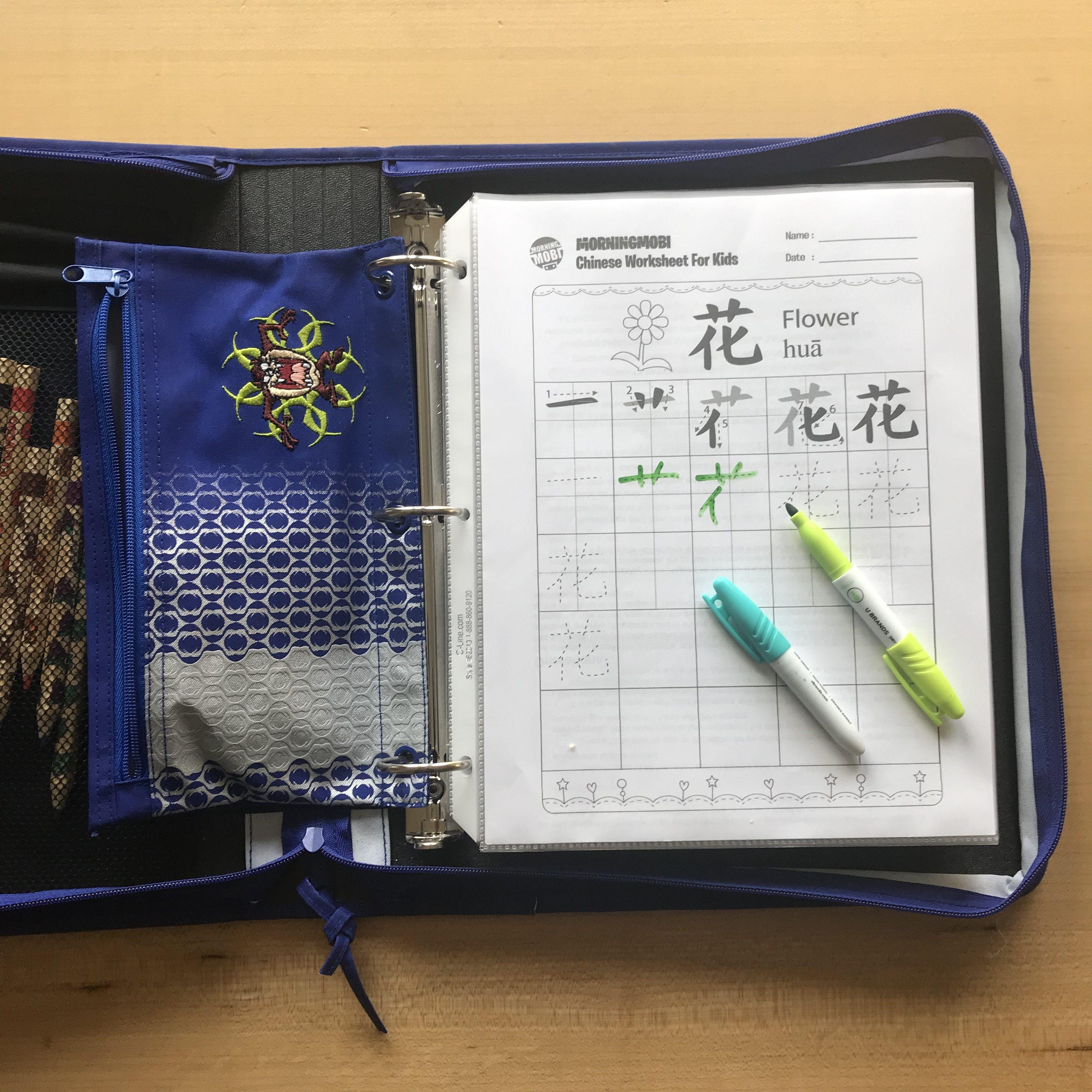 Reusable Worksheets