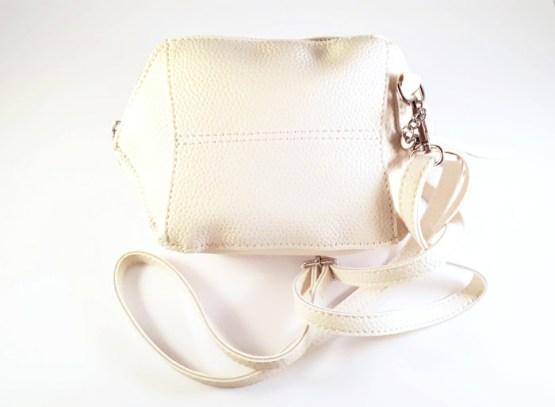 MamaBella AT0004 Kleine witte clutch handtas voor dames