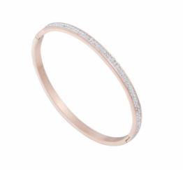 MamaBella AD0043 Rosé Strass Armband