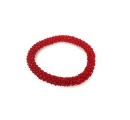 MamaBella AD0046 Rode Glitter Armband