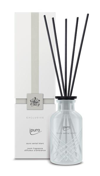 Ipuro Geurstokjes Exclusive ipuro santa blanc room fragrances geurdiffuser aromadiffuser huisparfum EAN4051281533424 MamaBella Juwelen en accessoires
