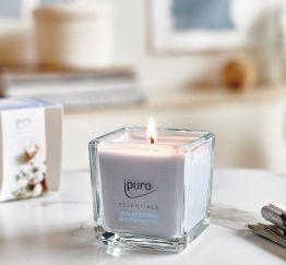 Essentials by Ipuro Geurkaars cotton fields 125 gr room fragrances geurdiffuser aromadiffuser huisparfum EAN4051281984288 Juwelen en accessoires