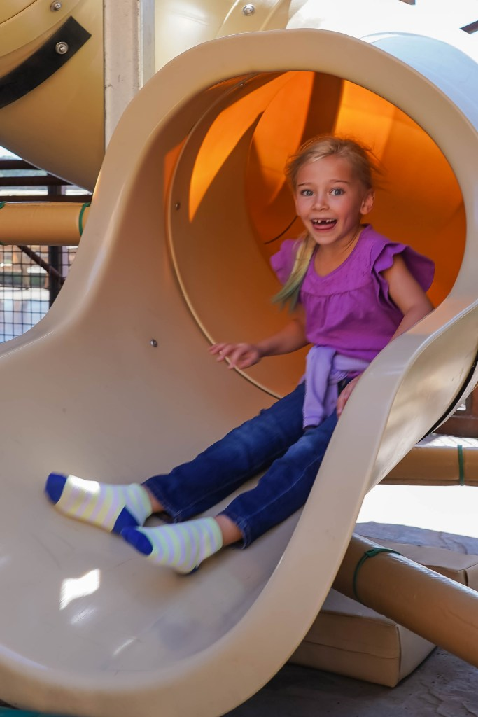 Stalactykes Adventure Slide at Cave of the Winds Mountain Park
