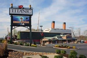 titanic pigeon forge 1