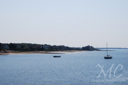 Coastline of Hyannis, MA