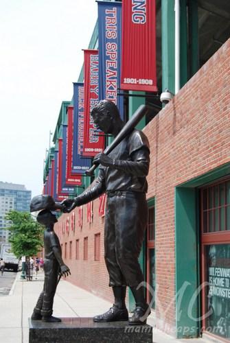 Fenway Park Boston Ted Williams Statue