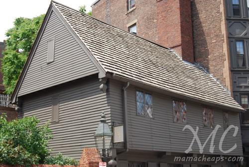 Paul Revere House Boston