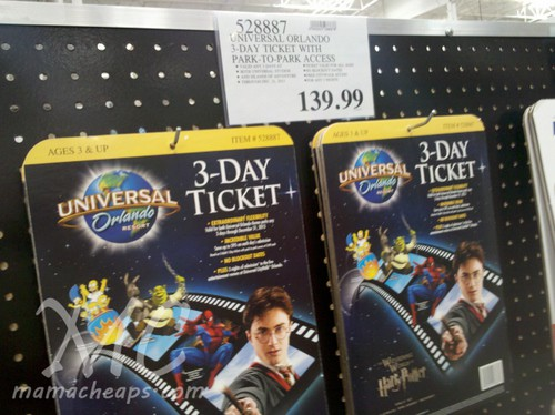 Universal Studios Orlando offers an exclusive military package. To book your vacation, call or visit your military base ticket office (ITT/LTS). Experience it all with: 3-Night.