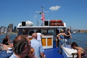 the kimberly hotel new york sunday brunch yacht cruise c