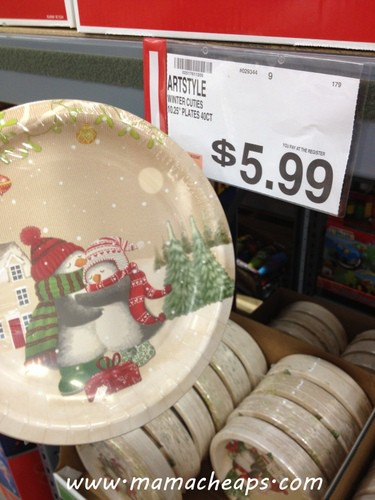 bj's wholesale club holiday plates