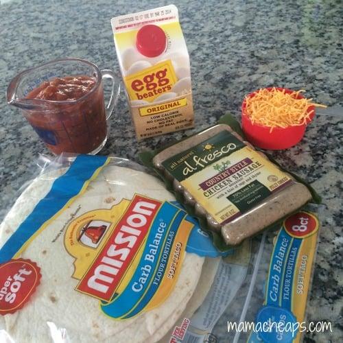 healthy breakfast burritos freezer a