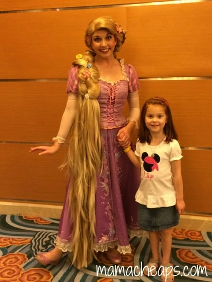 disney magic characters rapunzel
