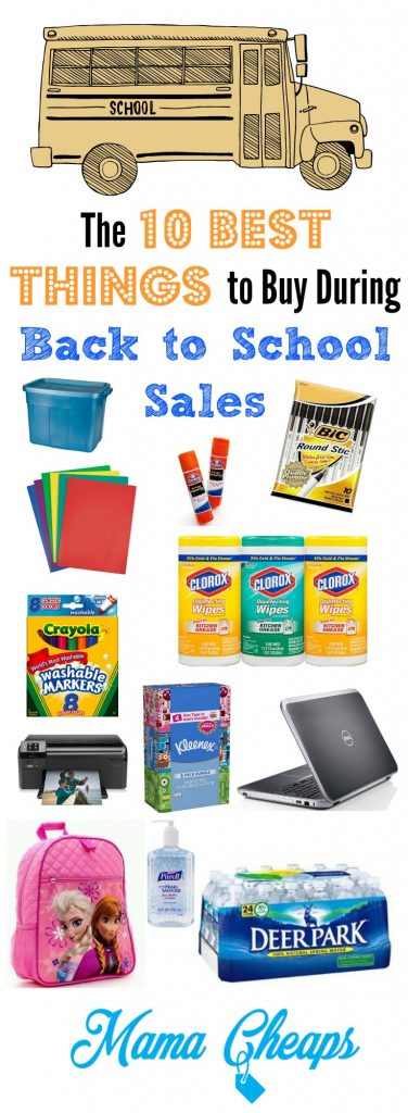 Back to School Must Buy Items