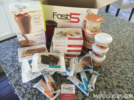 Nutrisystem journey week 1 recap i survived the fast 5 mama cheaps nutrisystem nsnation womens plan food fast 5 box contents mama cheaps solutioingenieria Gallery